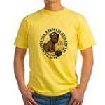 California Historical Radio S Yellow T-Shirt