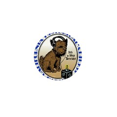 California Historical Radio S Mini Button (100 pac