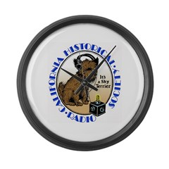 California Historical Radio S Large Wall Clock