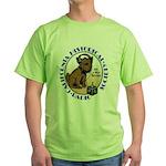 California Historical Radio S Green T-Shirt