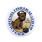 "California Historical Radio S 3.5"" Button"