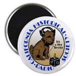 "California Historical Radio S 2.25"" Magnet (1"