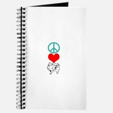 Peace Love Pomeranian Journal