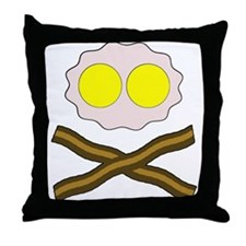 Eggs And Bakey Throw Pillow