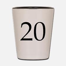 20 Shot Glass