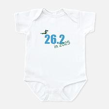 Future 26.2 Marathon Runner Infant Creeper