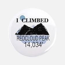 "I Climbed Redcloud Peak 3.5"" Button"