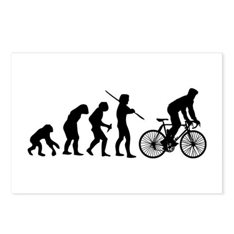 Cycling Evolution Postcards (Package of 8)