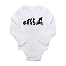 Cycling Evolution Long Sleeve Infant Bodysuit