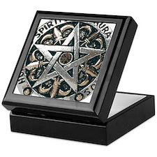 WICCAN Pentagram Keepsake Box