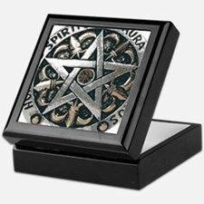 WICCAN Pentagram Keepsake Box