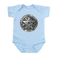 WICCAN Pentagram Infant Bodysuit