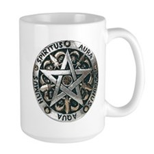 WICCAN Pentagram Mug