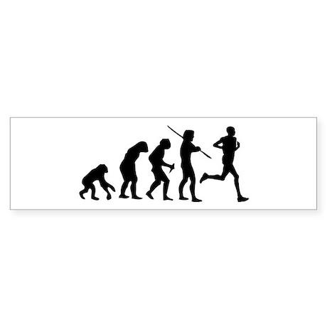 Running Evolution Sticker (Bumper)