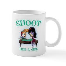 Shoot Like a Girl Small Mug