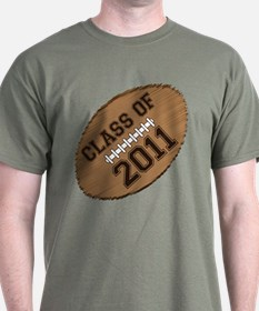 Class of 2011 Football T-Shirt