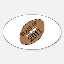 Class of 2011 Football Decal