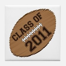 Class of 2011 Football Tile Coaster