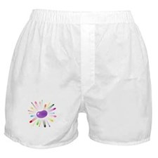 purple jellybean blowout Boxer Shorts