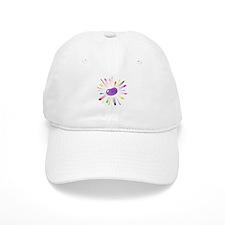 purple jellybean blowout Baseball Cap