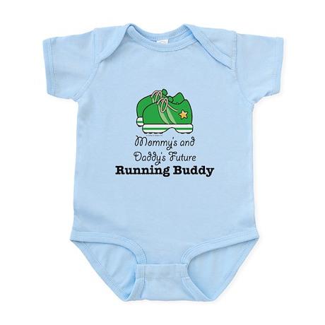 Mommy's Daddy's Future Running Buddy Baby Bodysuit
