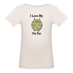 Fat Floral Cat Tee