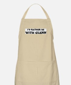 With Glenn BBQ Apron