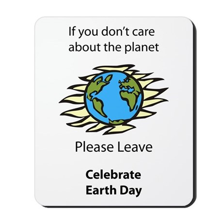 Care About Earth Mousepad