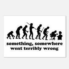 Something, somewhere went ter Postcards (Package o