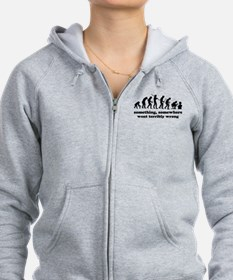 Something, somewhere went ter Zip Hoodie