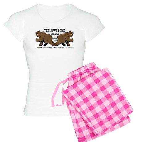 Grizzly Bears YNP Women's Light Pajamas