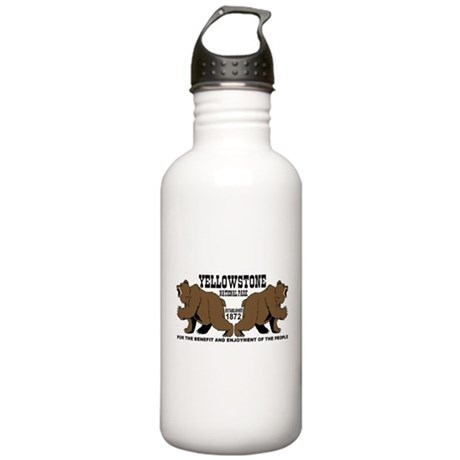 Grizzly Bears YNP Stainless Water Bottle 1.0L