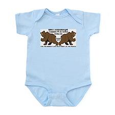 Grizzly Bears YNP Infant Bodysuit