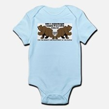 Grizzly Bears YNP Infant Bodysuit