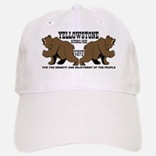 Grizzly Bears YNP Baseball Baseball Cap