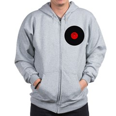 Dirty Dirty House Music Vinyl Zip Hoodie