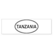 Tanzania Euro Bumper Bumper Sticker