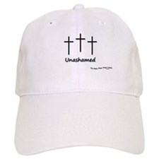 Baseball Cap / Hat - 3 Crosses Unashamed
