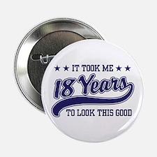 """18th Birthday 2.25"""" Button"""