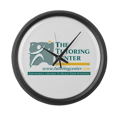 The Tutoring Center Large Wall Clock