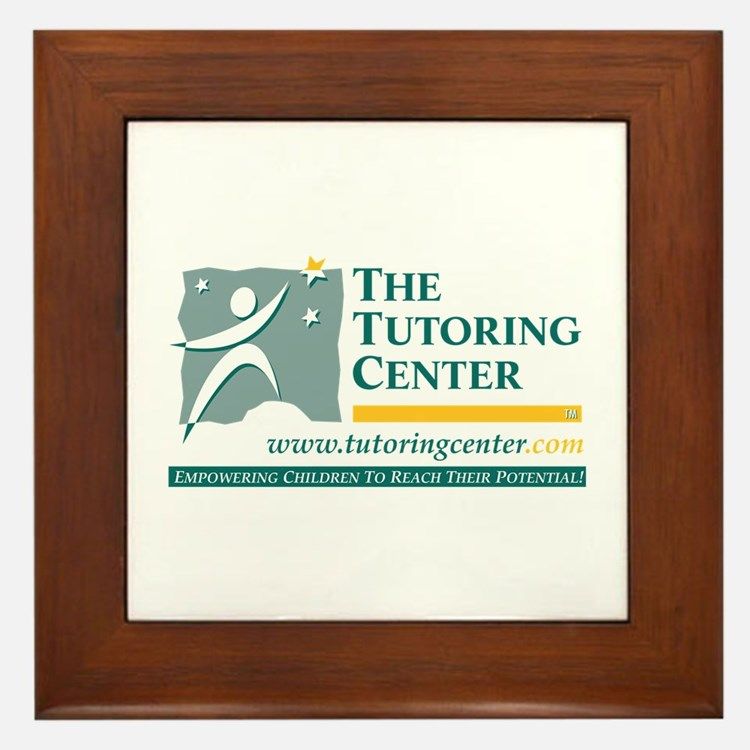The Tutoring Center Framed Tile