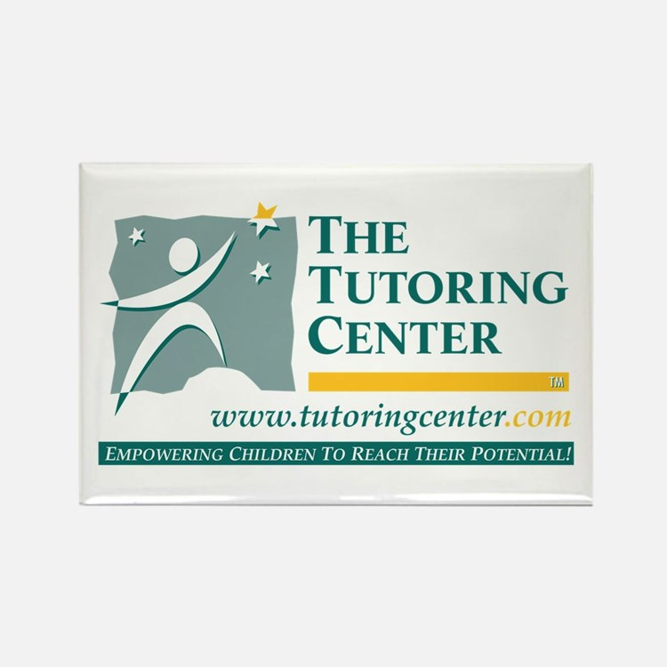 The Tutoring Center Rectangle Magnet