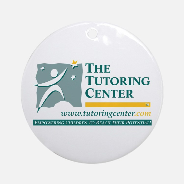 The Tutoring Center Ornament (Round)