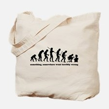 Something, somewhere went ter Tote Bag