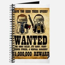 """""""Spices WANTED"""" Journal"""