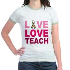 Live Love Teach Autism T