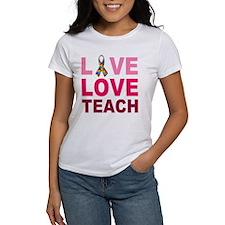 Live Love Teach Autism Tee