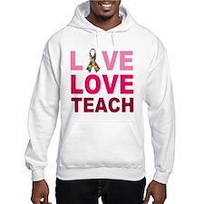 Live Love Teach Autism Hoodie