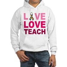 Live Love Teach Autism Jumper Hoody
