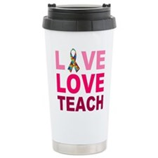Live Love Teach Autism Travel Mug